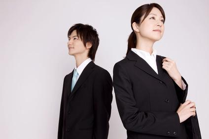 新入社員の男女
